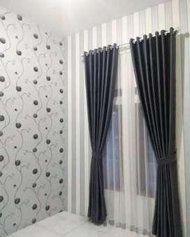 Gordyn Gorden Korden Wallpaper Dinding Tirai Hordeng Curtain Blinds