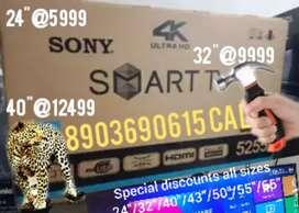 "¢40"" smart rs13499£ valantine£starts allsize Android led tv Lowprice"