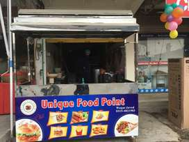 Total equipment for fast food shop