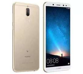 Huawei mate 10 lite, without box and 10 by 10 condition.