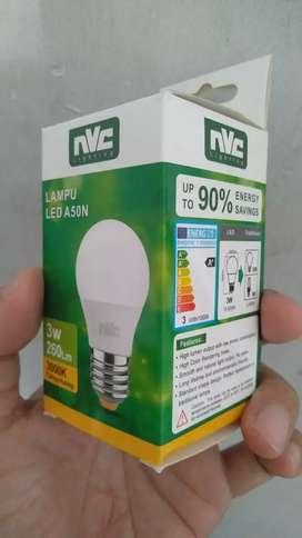 Lampu nvc 3 watt kuning
