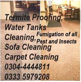 0304-4444/811 Disinfectant Spray Services & Termite-Deemak Control