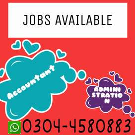 Accountant And Administration Jobs Available
