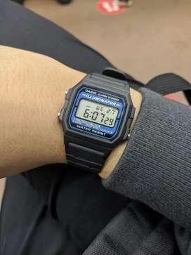 Jam tangan casio f 105w
