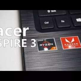 Acer A315 Amd Ryzen 7 Spek dewa pakaian 2bln gaes nota ada