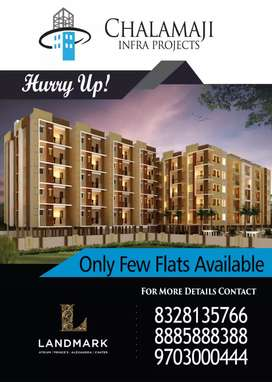 Premium flats for sale at paradesipalem
