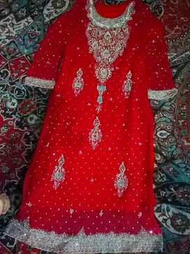 New dulhan dress for sell only whatsapp contect me