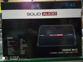 Car Amplifier 4Chanel Solid Audio 3000watts