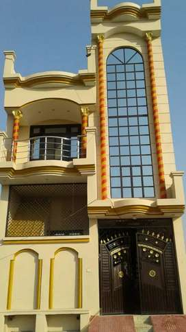 Duplex house well furnished 3 bedrooms  2 kitchen  lobby dring room