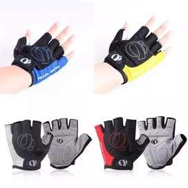 HS Sarung tangan sepeda / gym fitness gel anti slip