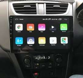 Head Unit Android Brand DHD Layar 10 inch