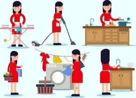 Dicari pembantu rumah tangga