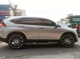 Honda CRV pakai velg hsr ciao r22x9 bisa kredit