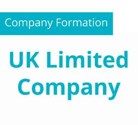 Form a legal Company in UK with bank account