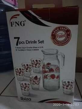 1 set jug&gelas baru