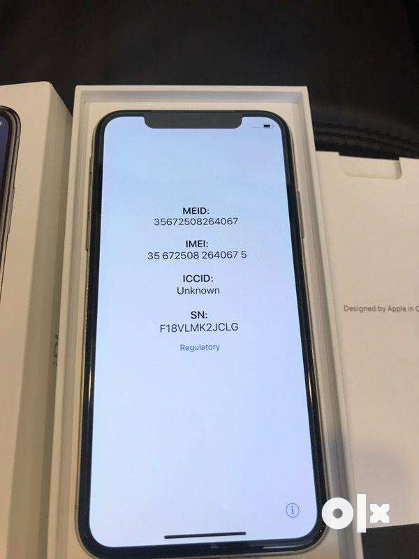 Apple I phone x new version with face i.d  in cash on delivery 0