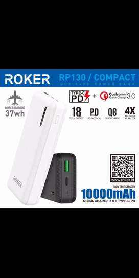 PowerBank Rocker FastCharging 10.000mah