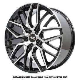 For Sale Velg Racing HSR Botain Ring 20 Untuk Mobil Nissan Xtrail