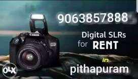 DSLR CAMERAS  FOR  RENT IN PITHPURAM