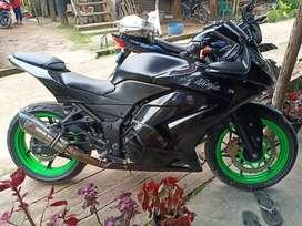 Jual motor Kawasaki  Ninja 4T, plat BG Pajak Of 1x