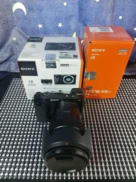 Sony A6000 + Lensa Sony E 18 - 105mm F4