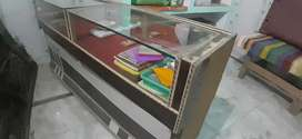 JEWELERS COUNTER .. 120KG WEIGHT WITH GOOD WOOD AND CONDITION
