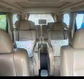 Toyota Alphard 3.5 v6 2010. Mulus!! Kaki kaki baru di ganti