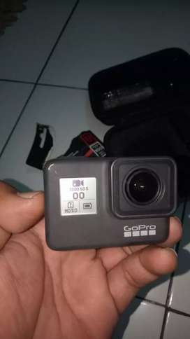 GoPro Hero 7 Black, Resmi. Like New Mulus. ( 4 5 6 Silver White )