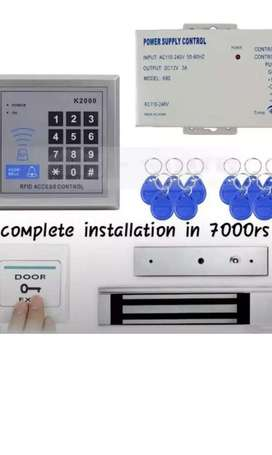 Rfid card access control door lock complete install with warranty