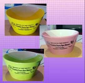 Souvenir mangkok keramik cantik utk ulang tahun atau kelahiran