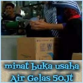 minat buka AMDK pabrik Air Gelas (Komplit 50Jt)