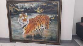 Lukisan 'Inyiak' Harimau