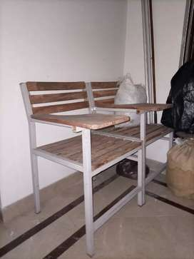 Steel wooden chair in reasonable price