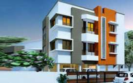 1050 sqft 2 Bhk Flat sale velachery near by madipakkam Ramar kovil