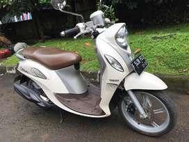 Yamaha Fino Premium 125 Thn 2018 Krem Mulus Gan