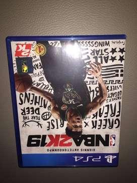 Kaset PS4 NBA 2k19