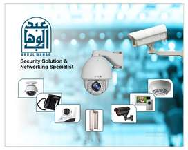 INSTALLATION OF CCTV CAMERAS & SECURITY RELATED