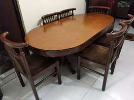 A Wooden Dining