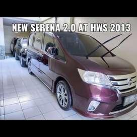 Nissan Serena new 2.0 HWS AT 2013 istimewa