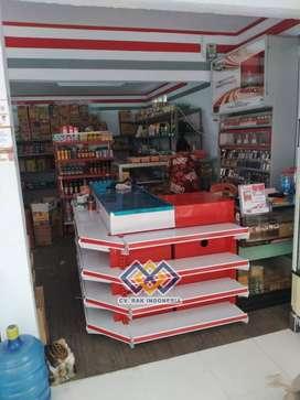 Rak Minimarket Rak Supermarket Rak Gondola Toko Rak Gudang Meja Kasir