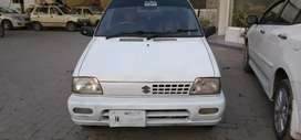 Mehran 2008 in good condition, Islamabad no, life time token paid,