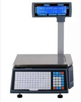 Animal weighing scale machine , plat form scale , barcode label scale