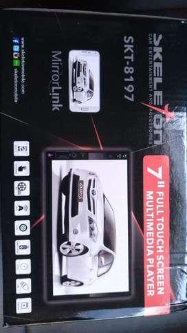 Head unit touchscreen merek skeleton SKT-8197