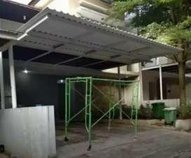 Kanopi baja ringan lebih elegan dan mewah dengan atap Alderon