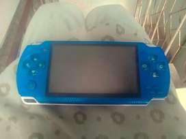 Video game its colour is blue it have camera