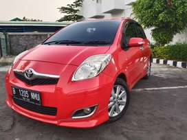 YARIS SLIMITED TH 2009 Bisa Dp 19Jt/Kredit ~KEYLEES FULL OPTION MERAH!