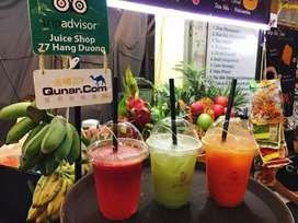 Juice shop running