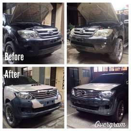 Fortuner T2 Projector Head Lamp, Tail Lamp, Body Parts