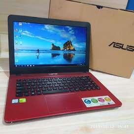 Dijual Laptop Asus  X441U sip desain Core I3 RAM 4GB hardisk 500 GB