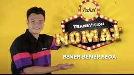 Promo pasang murah Transvision HD resmi Manado Pket 6 blan cuma rp420k